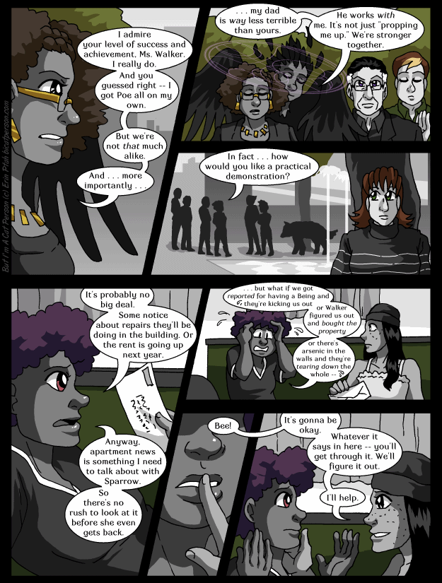 Chapter 29 page 20 ~ We ARE so different actually