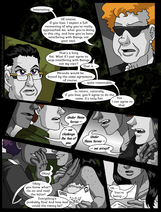 Chapter 29 page 22 ~ Sure, what IS the worst that could happen?