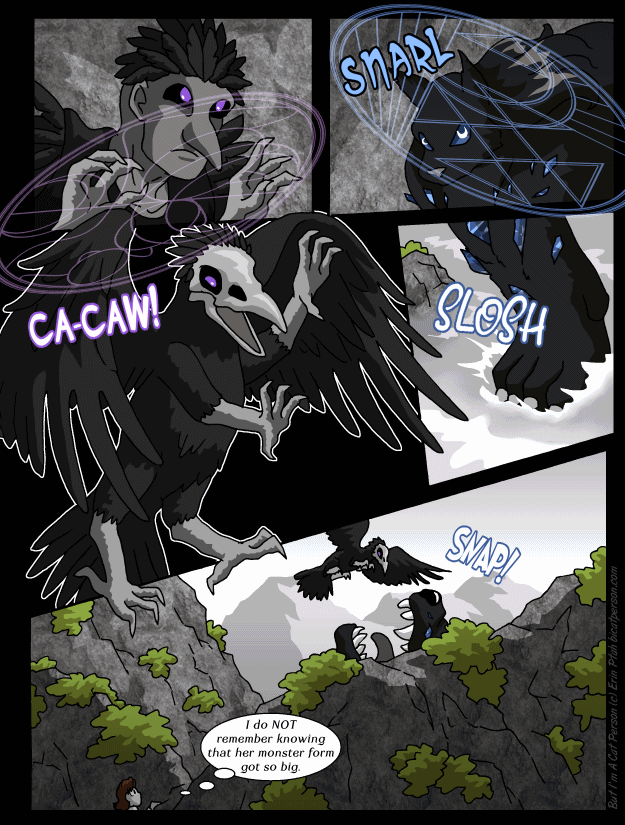 Chapter 29 page 25 ~ She was planning to chew his face off, but…