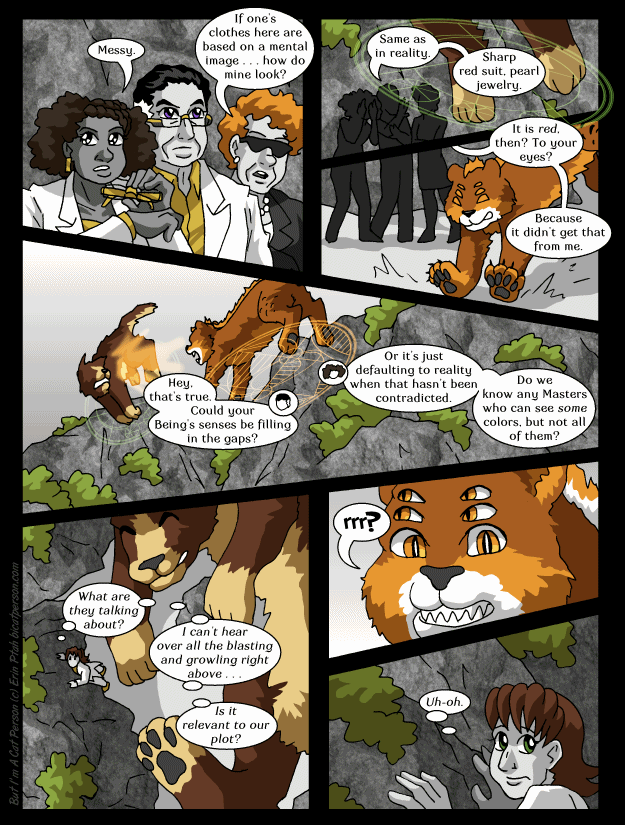 Chapter 29 page 27 ~ Not a cliffhanger! That's right, this chapter is RUNNING LONG
