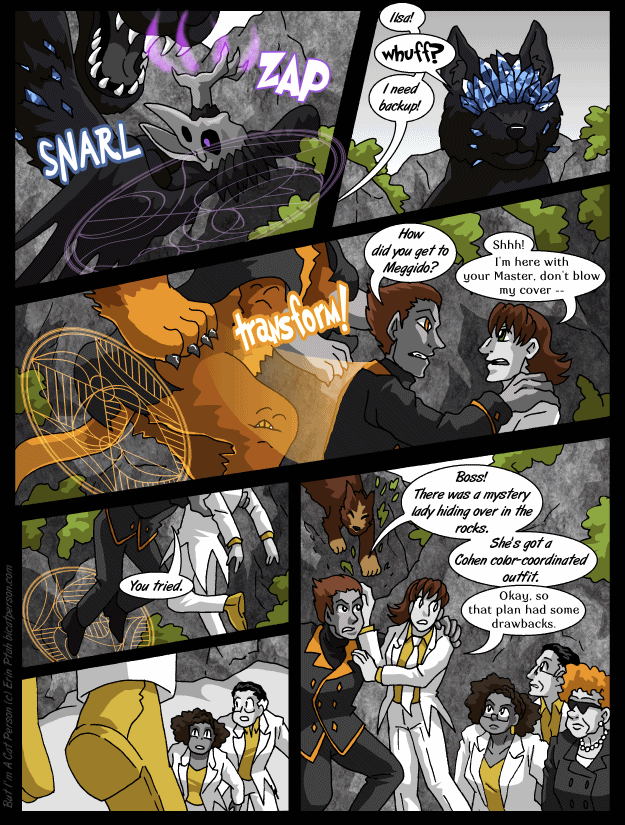 Chapter 29 page 28 ~ It's like this operation was TOO coordinated