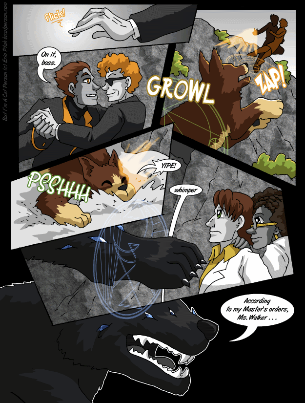 Chapter 29 page 30 ~ What a big Contract you have