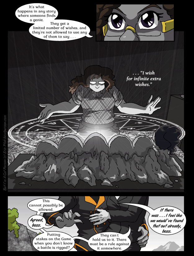 Chapter 30 page 4 ~ God-tier rules-lawyering
