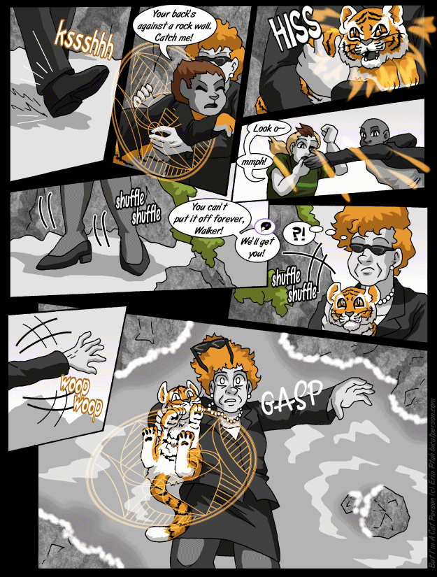 Chapter 30 page 7 ~ Where the sandwalk ends