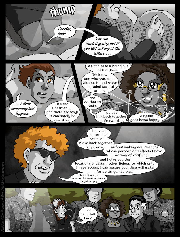 Chapter 30 page 13 ~ We did it thirty-five minutes ago