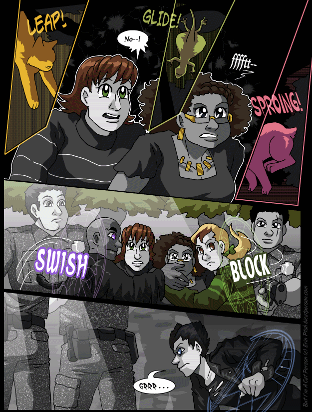 Chapter 30 page 15 ~ Reaction shot extravaganza