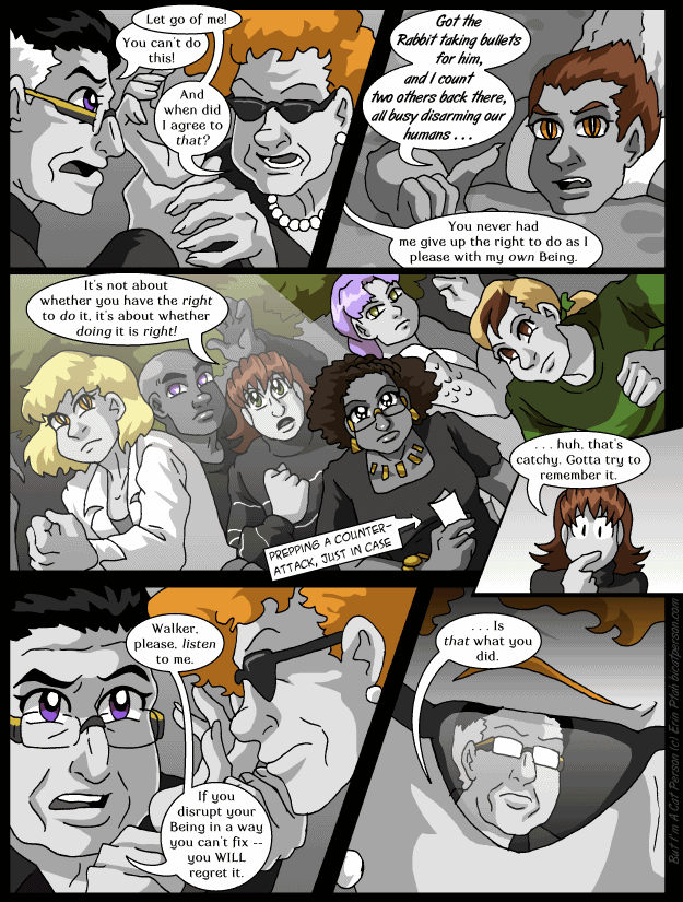 Chapter 30 page 17 ~ Scary shiny glasses