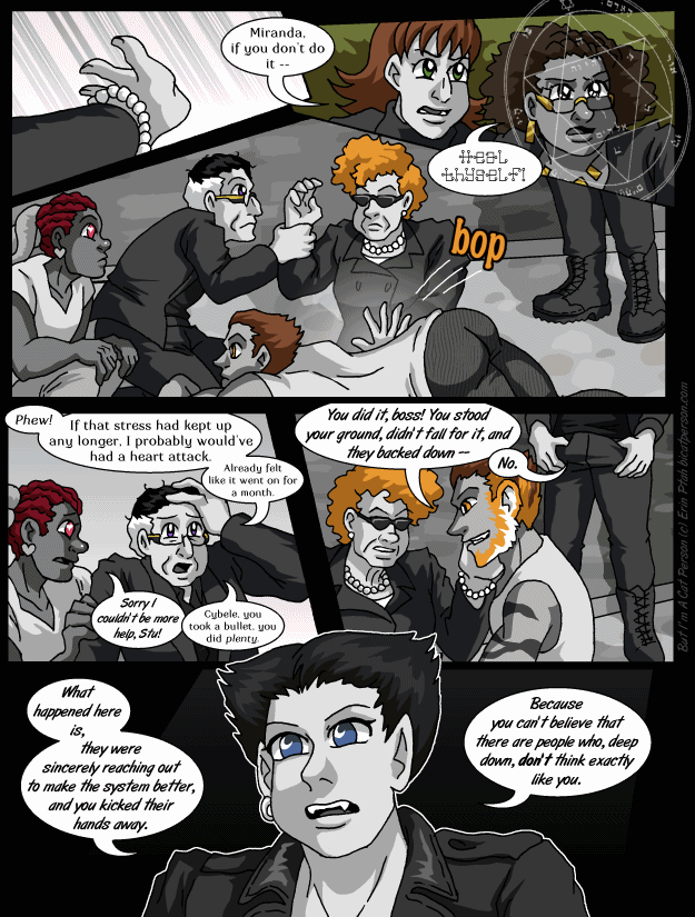 Chapter 30 page 19 ~ What big philosophies you have