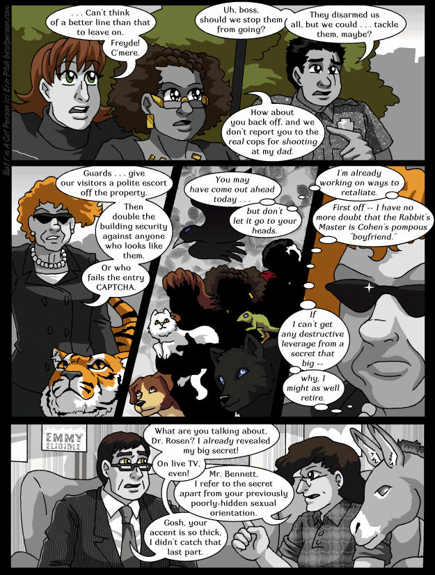 Chapter 30 page 20 ~ The best defense against blackmail