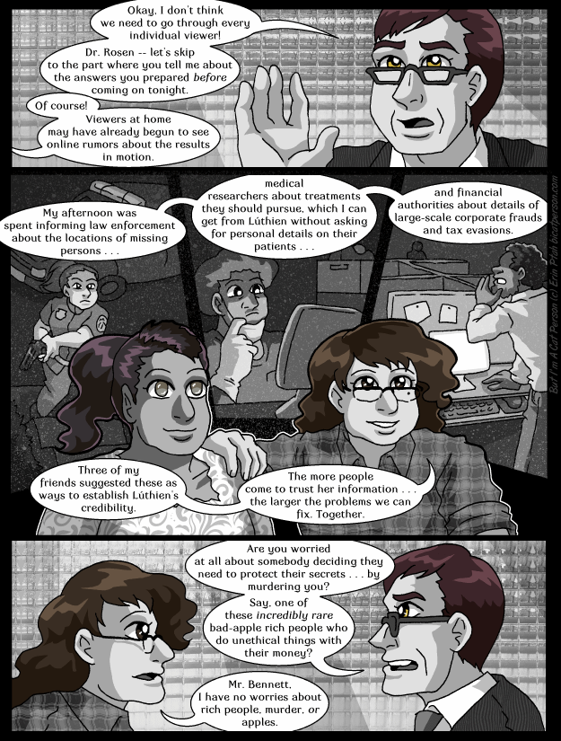 Chapter 30 page 23 ~ Quick, guess which credibility-building idea came from which character