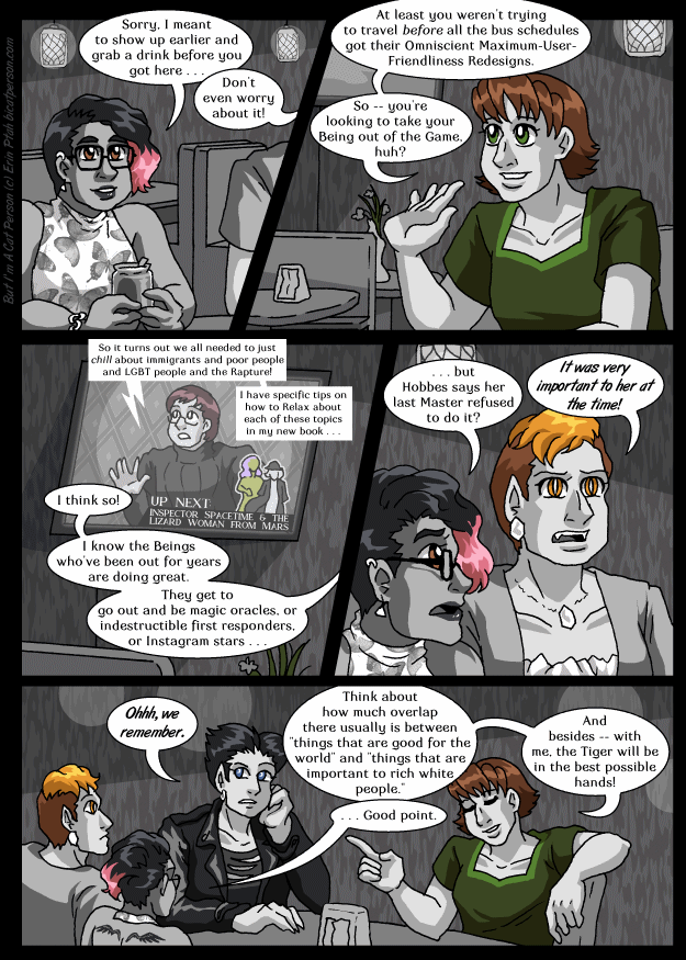 Chapter 30 page 32 ~ Here we are in the future (and it's bright)