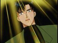 Mamoru watching Sailor Moon transform
