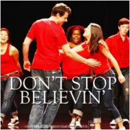 Glee cast in Don't Stop Believing