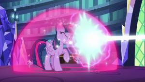 Twilight Sparkle magic barrier