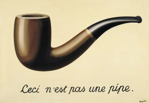 Magritte's 'This is not a pipe'