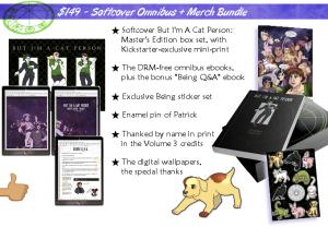 Softcover omnibus merch bundle