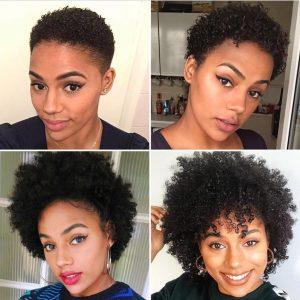 Hair growth progress shots