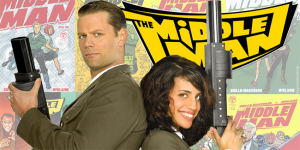 The Middleman logo