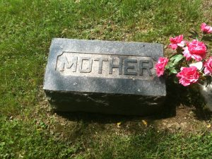 Gravestone labeled 'Mother'