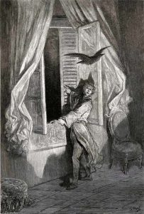 Illustration for The Raven