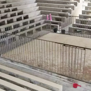 Empty dogfighting ring
