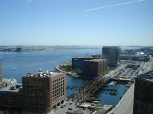 Boston overhead